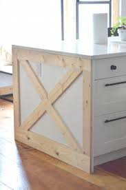 how to a kitchen island how to update a builder grade kitchen island with trim and paint