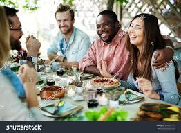 celebrating thanksgiving stock photo 508827721