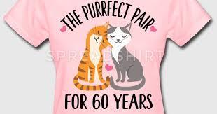 60th anniversary gift 60th anniversary gift 60 years t shirt spreadshirt