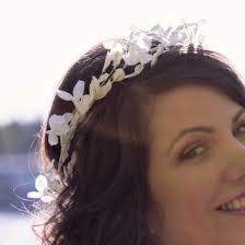 wedding flowers hair paper wedding flowers lia griffith
