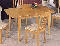Natural Wood Dining Room Sets Amazon Com Coaster Dinner Room Furniture Natural Finish Dining