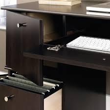 Espresso Computer Desk With Hutch by Desks Sauder Beginnings Desk With Hutch White Sauder Corner Desk