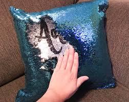 mermaid pillow christmas gifts sequin pillow custom