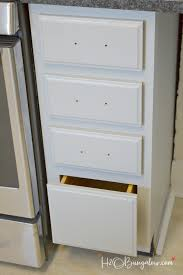 Wood File Cabinets For The Home by How To Install Knobs And Pulls On Cabinets And Furniture H20bungalow