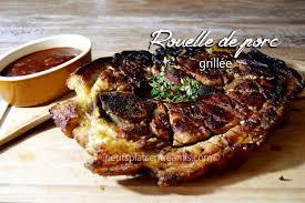 cuisiner une rouelle de porc rouelle de porc grillée petits plats entre amis