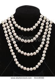 pearl necklace stock images royalty free images vectors