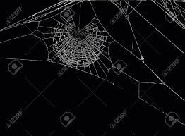 green halloween spiders on black background 17 093 spider web stock vector illustration and royalty free