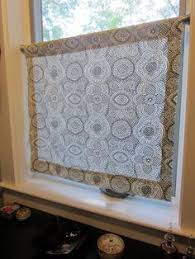 Bathroom Window Curtains How To Make A Pretty Diy Window Privacy Screen Thrift Window