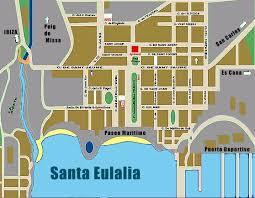 map of santa ibiza map maps of ibiza island san antonio santa eulalia map of