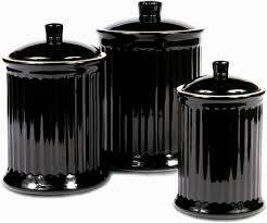 black ceramic kitchen canisters ceramic kitchen canister sets home decoration