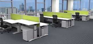 Sit Stand Office Desk Create A Healthier Working Environment With Sit Stand Desks Md