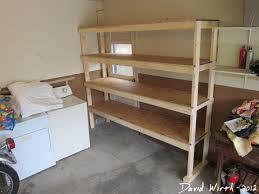 Garage Shelf Design Furniture Home Garage Shelving Plans Garage Shelving Plans