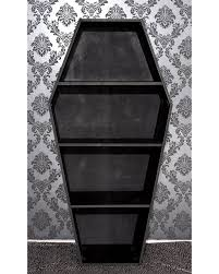 koffin u0027s dark decor coffin shelf tragic beautiful buy online