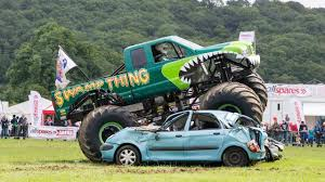 monster truck racing uk why are more than 500 trucks rumbling through west wales next