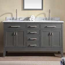 gray bathroom vanities you ll wayfair