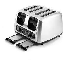 4 Slice Bread Toaster Ge 4 Slice Toaster Walmart Com