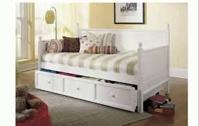 bedroom design black metal daybed with pop up trundle with