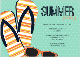 summer party invitation wording 2017 invitation ideas