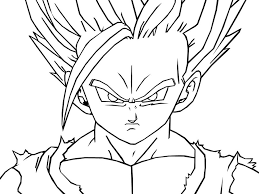 dragon ball coloring pages goku gft coloring coloringeast com