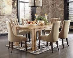 ashley furniture mestler 7 piece set dining table set furniture