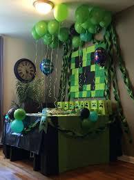 minecraft party decorations dbed088bc8ac4b87a339acae9fa00c7b jpg 736 981 s b day