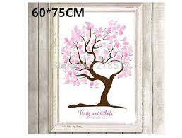wedding signing board 2018 wholesale new 30 x40cm guest signing signature wedding tree