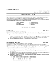 Resume Samples Senior Management by Resume Examples Canada The Best Resume