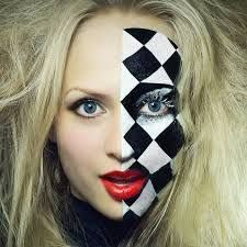 harlequin makeup mugeek vidalondon