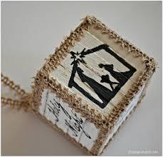 pallet block ornaments for hometalk