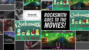 rocksmith 2014 edition dlc rocksmith goes to the movies youtube