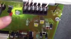 genie excelerator garage door opener repair youtube