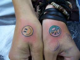 photo editor online free image editing small peace sign tattoo