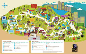 Map Of Denver Colorado by Denver Zoo Map