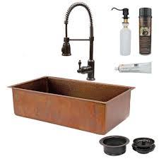 ada compliant kitchen cabinets sinkology angelico drop in handmade copper 33 in 4 hole single