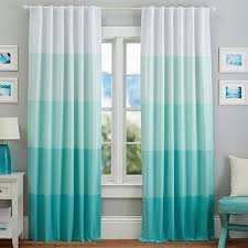 Ombre Window Curtains Enchanting Teal Ombre Curtains Designs With Teal Ombre Window