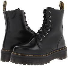 Most Comfortable Military Boots Dr Martens Jadon Boots Models Wearing Combat Boots Popsugar