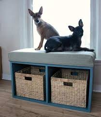 Elevated Dog Bed With Stairs 05 Dog Perch 1 Jpg