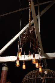 pulley system light fixtures big daddy s antiques custom light fixture using an intricate vintage