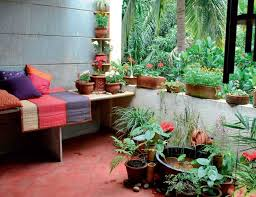 Garden Decorating Ideas Pinterest Garden In Apartment Balcony My Interior Style