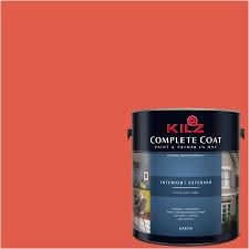 Exterior Paint And Primer - kilz complete coat interior exterior paint u0026 primer in one lh190