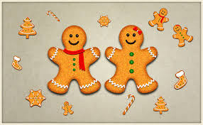 make gorgeous and yummy christmas cookies in photoshop website