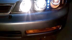 2002 honda accord headlight bulb after headlight install on 1996 honda accord