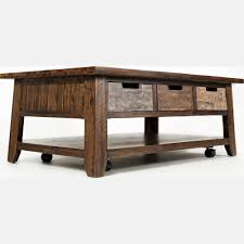 Rustic Coffee Table With Wheels Coffe Table Amazing Round Coffee Table With Wheels On Marvelous