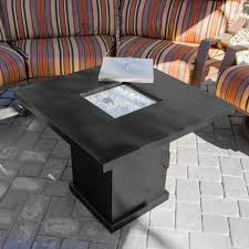Glass Fire Pit Table Outdoor Gas Fire Table Boardwalk And Glass Guard1224 Napoleon St