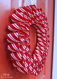 ribbon wreath december 7 ribbon candy wreath