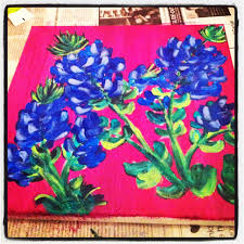 texas bluebonnet painting diy for the home pinterest texas