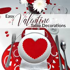 day table decorations a and easy way to decorate a table for s day an