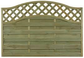 grange woodbury premium slatted fence panel w 1 8m h 1 04m