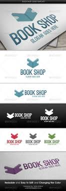 templates for bookshop book shop logo template by themetor graphicriver