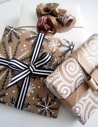brown gift wrapping paper alisaburke wrapping with paper bags